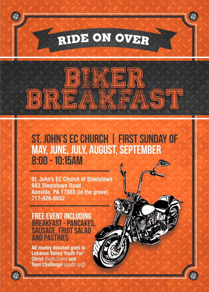 Biker Breakfast | St. John's Church